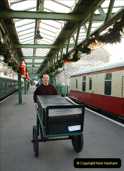 2018-12-08 Santa Specials at Swanage and Norden.  (27)027