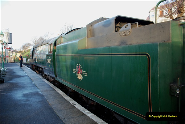 2018-12-08 Santa Specials at Swanage and Norden.  (35)035