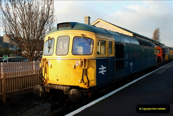 2018-12-08 Santa Specials at Swanage and Norden.  (36)036