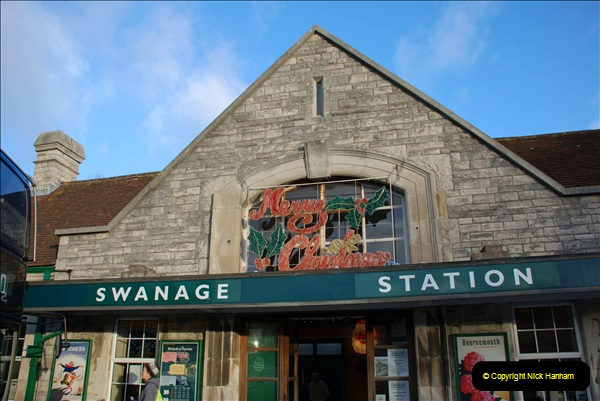 2018-12-08 Santa Specials at Swanage and Norden.  (40)040
