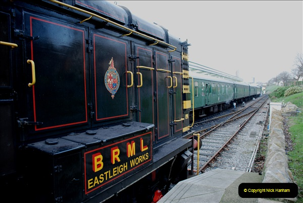 2018-12-08 Santa Specials at Swanage and Norden.  (44)044