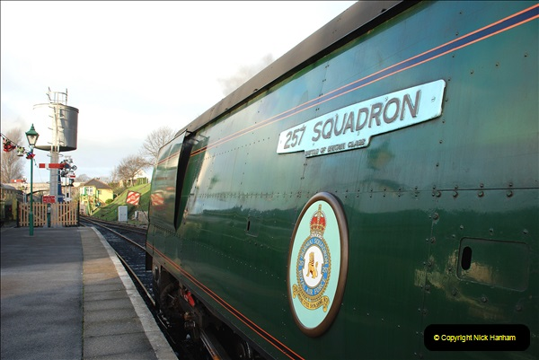 2018-12-08 Santa Specials at Swanage and Norden.  (50)050