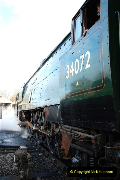 2018-12-08 Santa Specials at Swanage and Norden.  (79)079