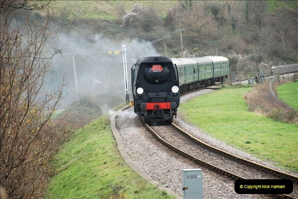 2018-12-08 Santa Specials at Swanage and Norden.  (108)108
