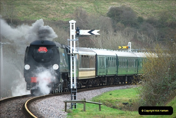 2018-12-08 Santa Specials at Swanage and Norden.  (113)113