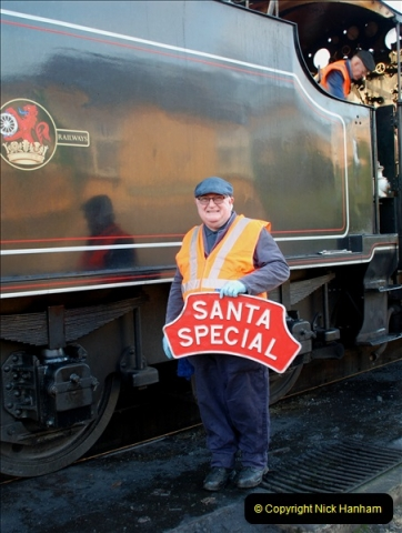 2018-12-08 Santa Specials at Swanage and Norden.  (18)018