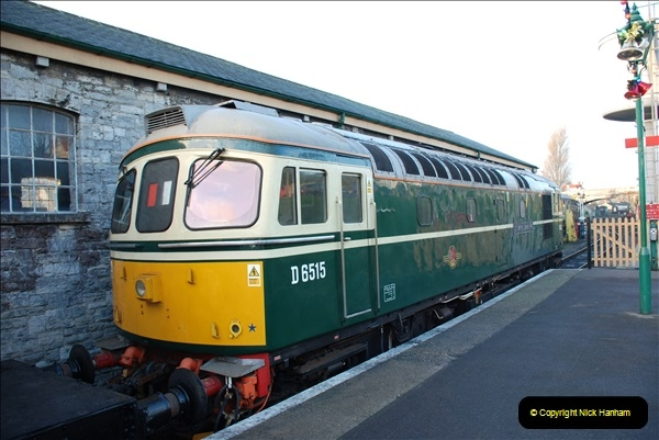 2018-12-08 Santa Specials at Swanage and Norden.  (31)031