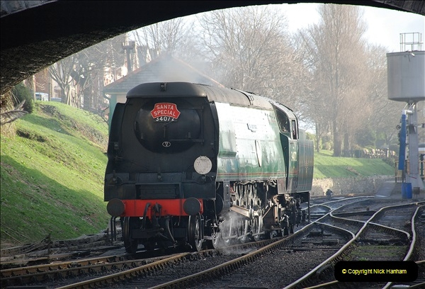 2018-12-08 Santa Specials at Swanage and Norden.  (70)070