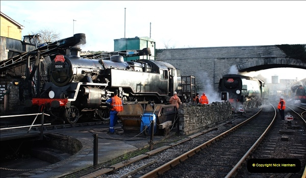 2018-12-08 Santa Specials at Swanage and Norden.  (72)072