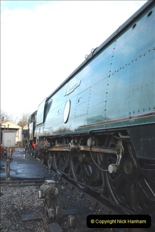 2018-12-08 Santa Specials at Swanage and Norden.  (75)075