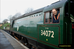 2018-12-08 Santa Specials at Swanage and Norden.  (49)049