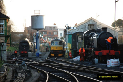 2018-12-08 Santa Specials at Swanage and Norden.  (5)005