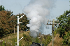 2009-09-11 SR Steam Gala. Your Host driving 6695.  (23)23