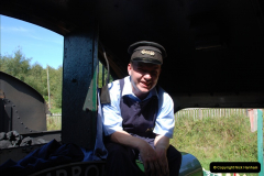 2009-09-11 SR Steam Gala. Your Host driving 6695.  (43)43