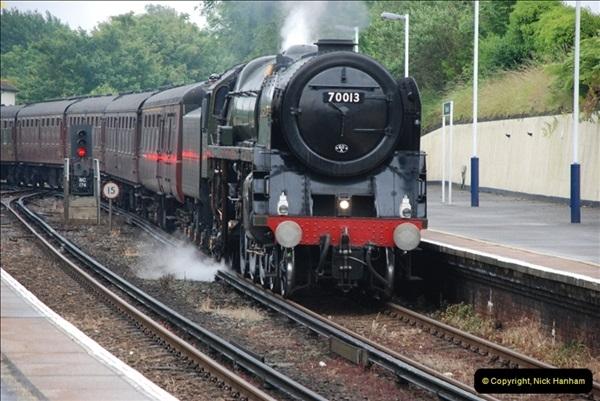 2012-06-21 70013 @ Branksome, Poole, Dorset.  (1)007