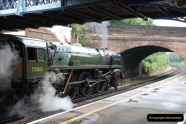 2012-06-21 70013 @ Branksome, Poole, Dorset.  (7)013