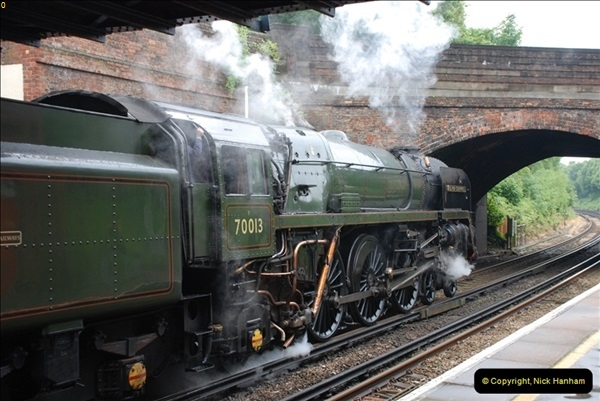 2012-06-21 70013 @ Branksome, Poole, Dorset.  (9)015
