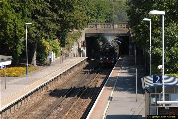 2013-09-04 70013 @ Parkstone, Poole, Dorset.  (1)097