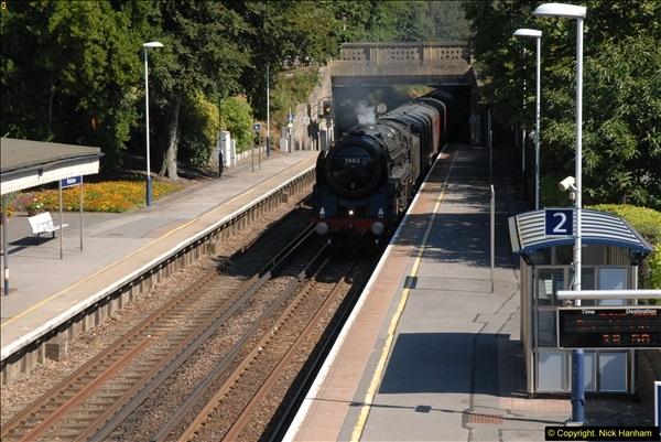 2013-09-04 70013 @ Parkstone, Poole, Dorset.  (2)098