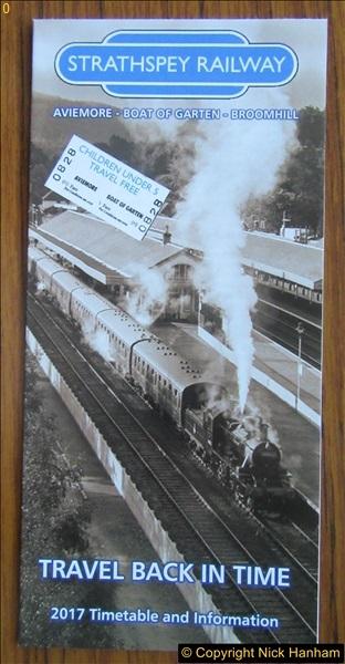 Strathspey Railway 22 & 24 August 2017