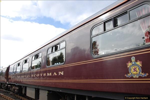 2017-08-24 The Royal Scotsman on the Strathspey Railway.  (33)232