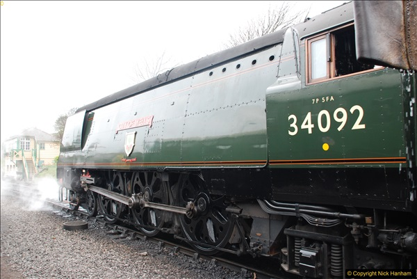 2017-03-31 The Swanage Railway Strictly Bulleid Gala.  (101)101