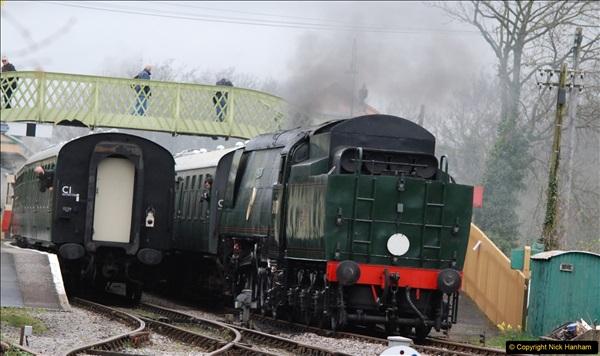 2017-03-31 The Swanage Railway Strictly Bulleid Gala.  (123)123