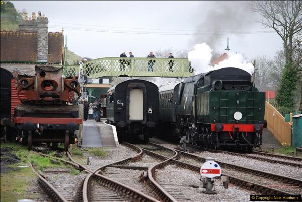 2017-03-31 The Swanage Railway Strictly Bulleid Gala.  (124)124