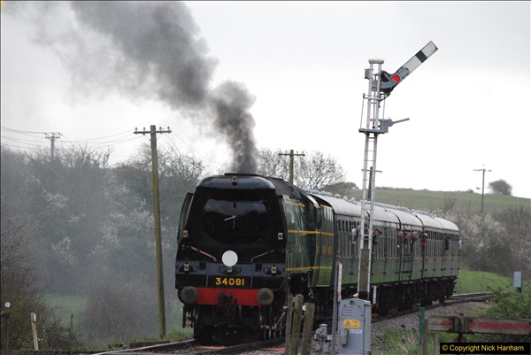 2017-03-31 The Swanage Railway Strictly Bulleid Gala.  (133)133
