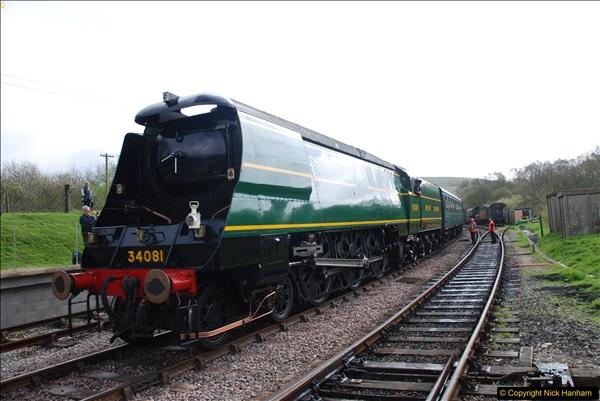2017-03-31 The Swanage Railway Strictly Bulleid Gala.  (161)161