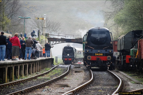 2017-03-31 The Swanage Railway Strictly Bulleid Gala.  (167)167