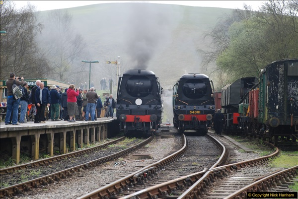 2017-03-31 The Swanage Railway Strictly Bulleid Gala.  (169)169