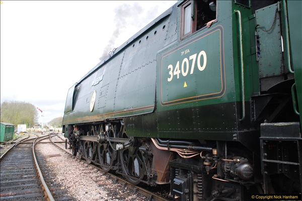 2017-03-31 The Swanage Railway Strictly Bulleid Gala.  (178)178