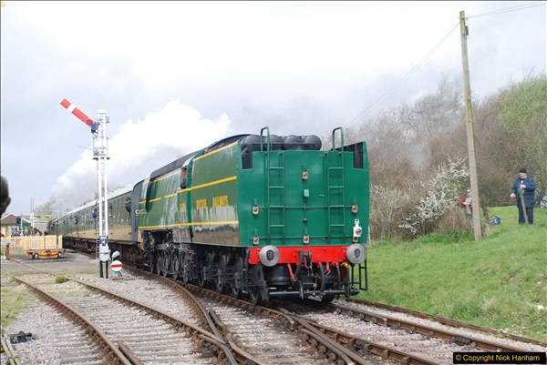 2017-03-31 The Swanage Railway Strictly Bulleid Gala.  (181)181