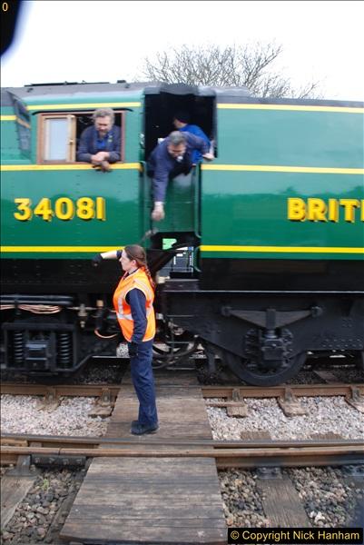 2017-03-31 The Swanage Railway Strictly Bulleid Gala.  (186)186