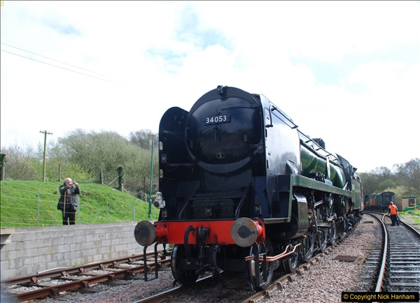 2017-03-31 The Swanage Railway Strictly Bulleid Gala.  (204)204
