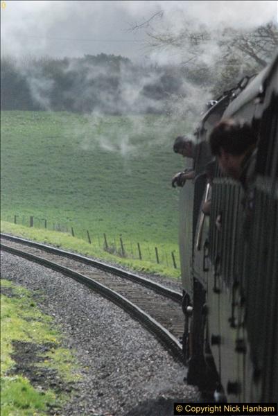 2017-03-31 The Swanage Railway Strictly Bulleid Gala.  (221)221