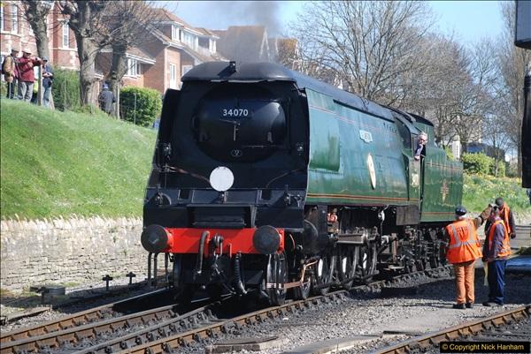 2017-03-31 The Swanage Railway Strictly Bulleid Gala.  (243)243