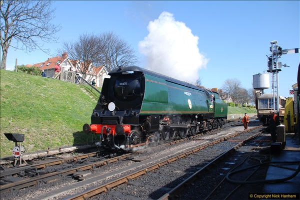2017-03-31 The Swanage Railway Strictly Bulleid Gala.  (245)245