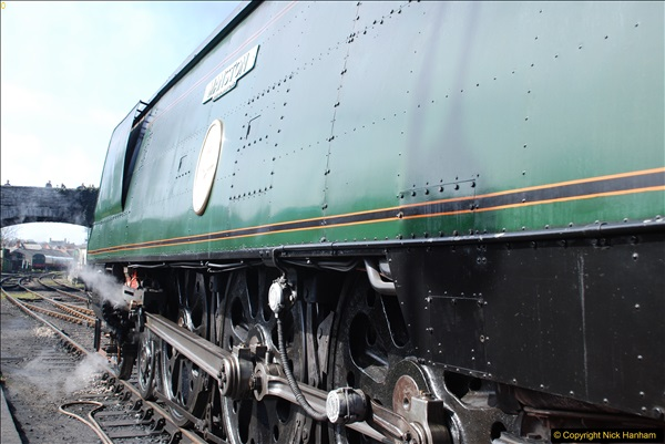 2017-03-31 The Swanage Railway Strictly Bulleid Gala.  (251)251