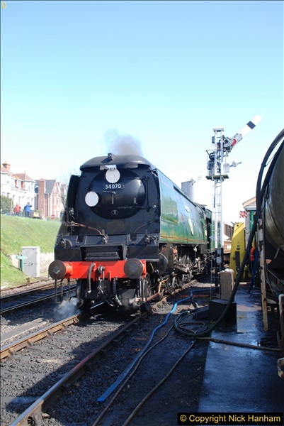 2017-03-31 The Swanage Railway Strictly Bulleid Gala.  (254)254