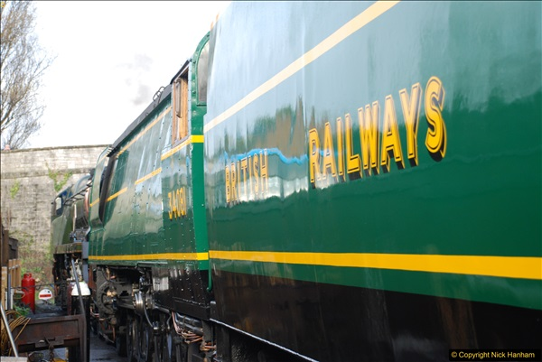 2017-03-31 The Swanage Railway Strictly Bulleid Gala.  (26)026
