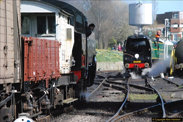 2017-03-31 The Swanage Railway Strictly Bulleid Gala.  (291)291
