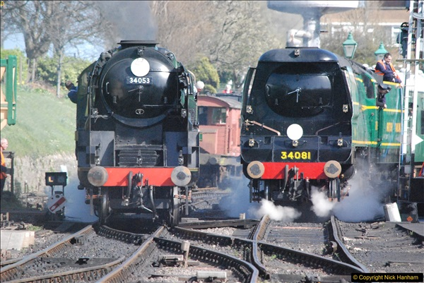 2017-03-31 The Swanage Railway Strictly Bulleid Gala.  (300)300