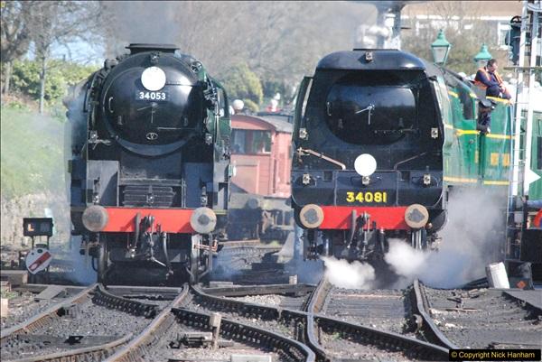 2017-03-31 The Swanage Railway Strictly Bulleid Gala.  (301)301