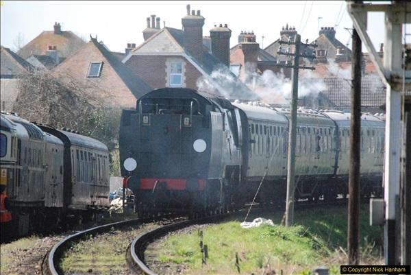 2017-03-31 The Swanage Railway Strictly Bulleid Gala.  (304)304