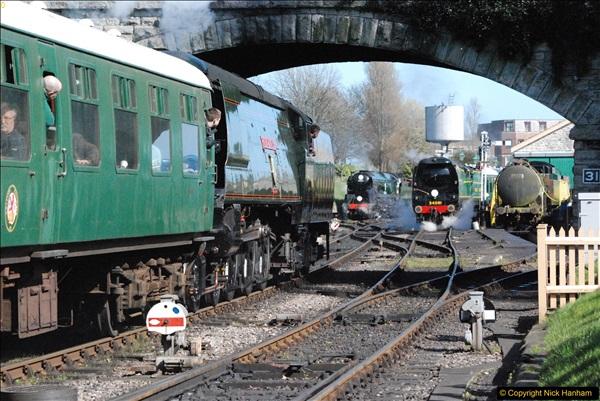 2017-03-31 The Swanage Railway Strictly Bulleid Gala.  (306)306