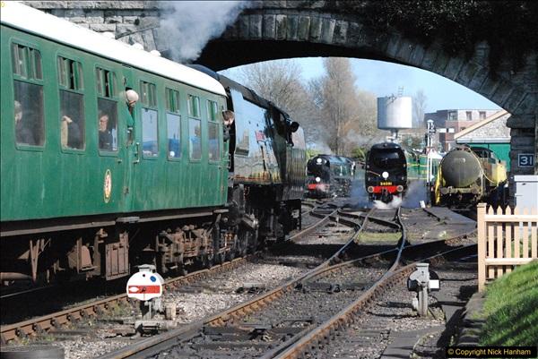 2017-03-31 The Swanage Railway Strictly Bulleid Gala.  (307)307