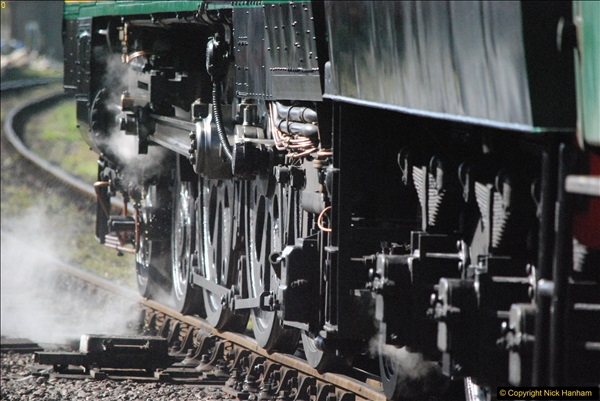 2017-03-31 The Swanage Railway Strictly Bulleid Gala.  (319)319