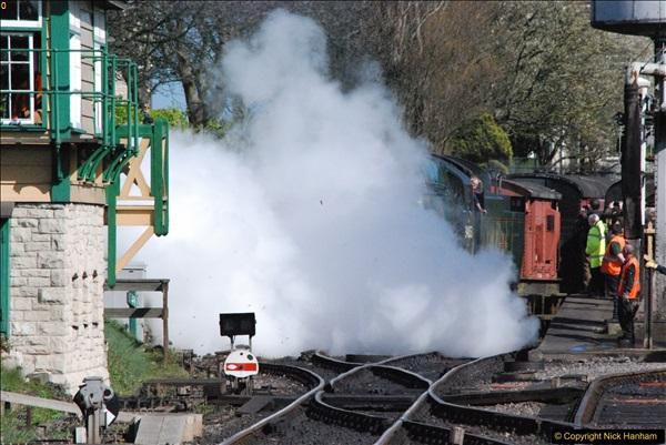 2017-03-31 The Swanage Railway Strictly Bulleid Gala.  (322)322